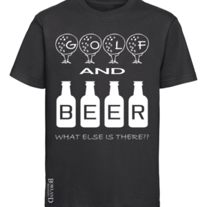Golf and Beer T Shirt