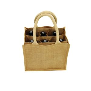 Jute Beer Carrier