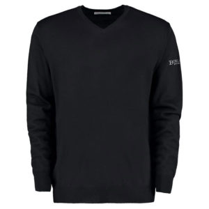 Merino blend long sleeve sweater